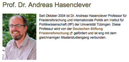 Prof Hasenclever